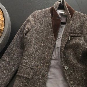 Vince gray tweed blazer/jacket